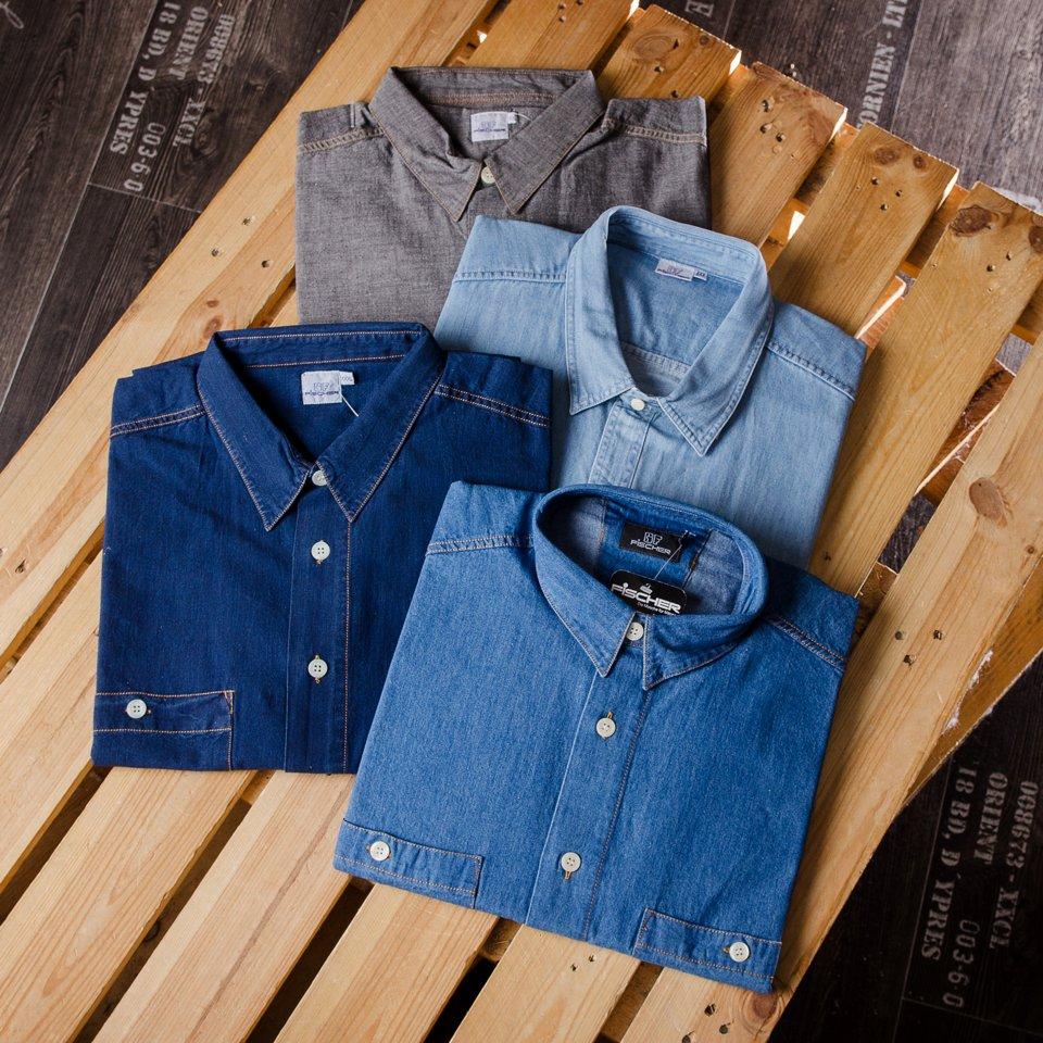 Jeans-Hemden in riesiger Auswahl